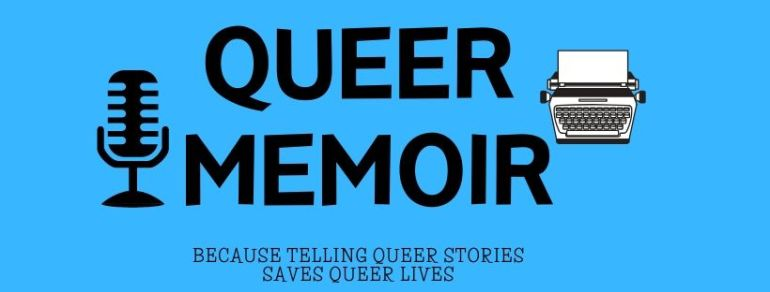QUEER MEMOIR LOGO FOR FACEBOOK COVER
